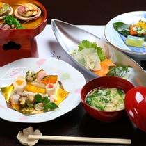 【食事】春の会席料理一例