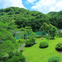 【庭園】新緑の風景