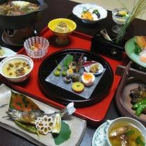 【食事】秋の会席料理一例