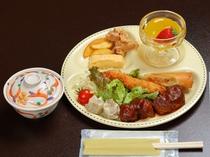 お子様ランチは日帰り昼食のほか、別注追加料理としてもお召し上がりになれます。