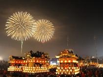 【秩父夜祭】毎年12月3日の秩父地域最大のイベント。有形・無形の民俗文化財、さらにユネスコにも登録。
