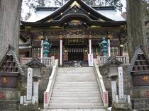 秩父三社「三峯神社」は当館より車90分。関東屈指のパワースポットです。