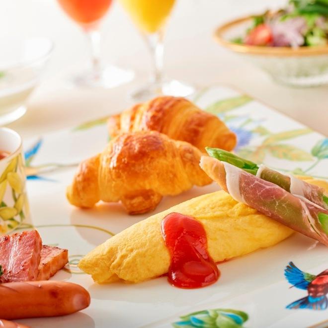 朝食(アメリカンブレックファースト)