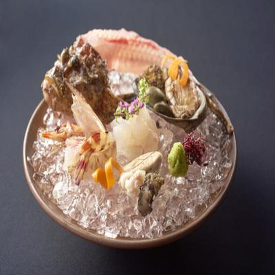 瀬戸内の鮮魚のお造り盛り合わせ
