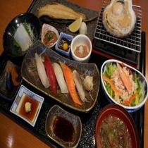 雅家夕食2200円コース(フロントにて夕食券を販売しております)