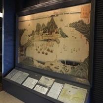 箱館真景(古地図)ロビーにございます。
