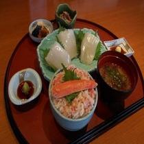 雅家夕食1500円コース(フロントにて夕食券を販売しております)