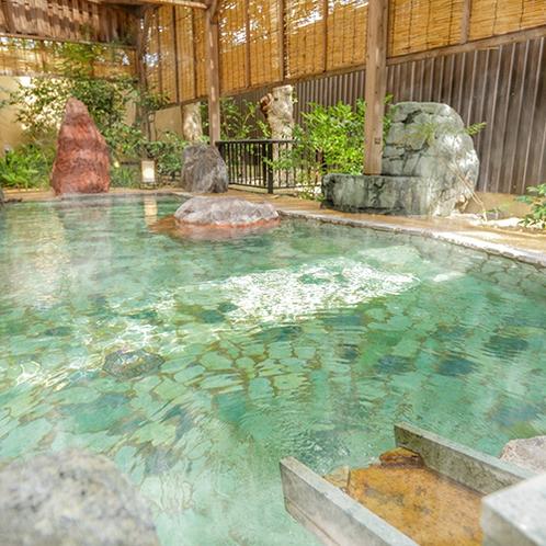 駿河亭-男性庭園風呂(露天)