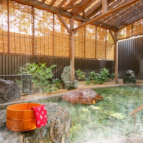 駿河亭-女性庭園風呂(露天)