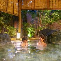 お風呂イメージ-庭園風呂(露天)