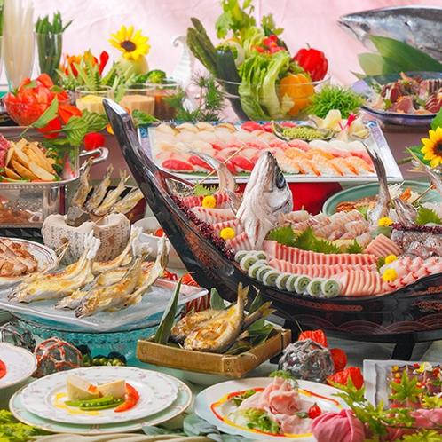 お食事イメージ『夕食バイキング』