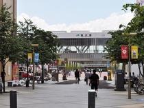 【旭川駅】旭川駅から徒歩7分の立地。ビジネスにも観光にも便利です。