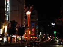 """【さんろく】旭川最大の繁華街""""さんろく""""に一番近いホテルです。"""