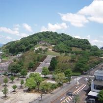 朝食会場からの景色【西山公園】