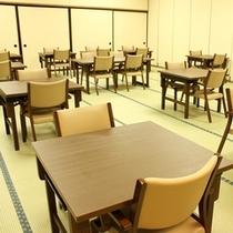 新設された宴会場のイス・テーブル♪