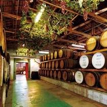 モンデ酒造の樽貯蔵庫!写真を見ているだけでワインの香りがしてきそう(^^)/