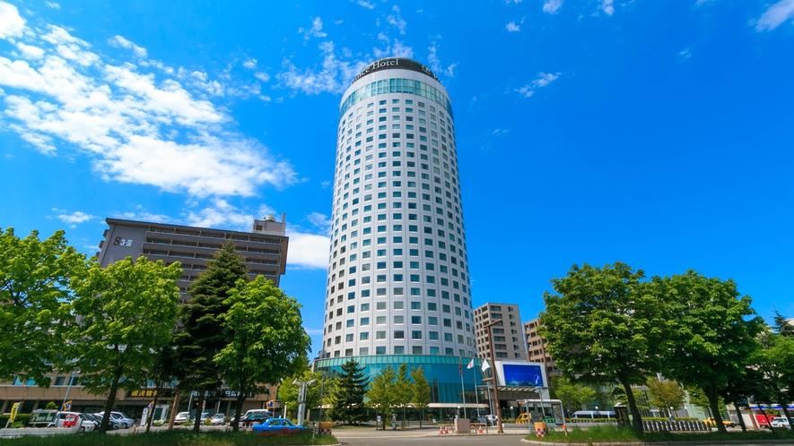 夏の札幌プリンスホテル