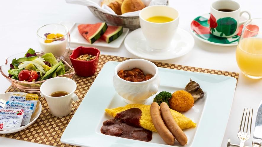 【ロイヤルフロアご宿泊者限定】朝食 ※洋定食イメージ