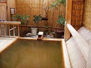 ベッドルーム付き和洋室で貸切露天風呂日帰り温泉1食プラン