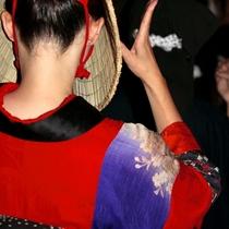 *日本三大盆踊りとして知られている西馬内盆踊り。