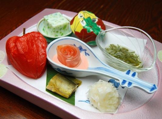 清水屋夫婦・カップル膳プラン(夕・朝お部屋食)