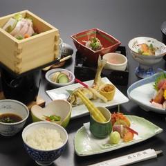 【日帰り】「お手頃昼食膳」+貸切風呂付プラン♪
