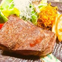 選べるメイン料理プランのステーキ