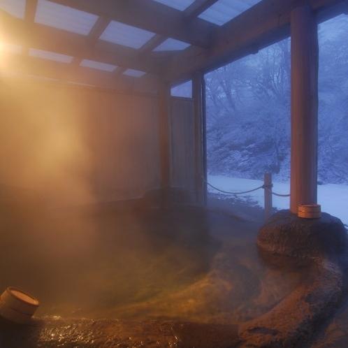 「桂の湯」男湯・初冬夕暮れ