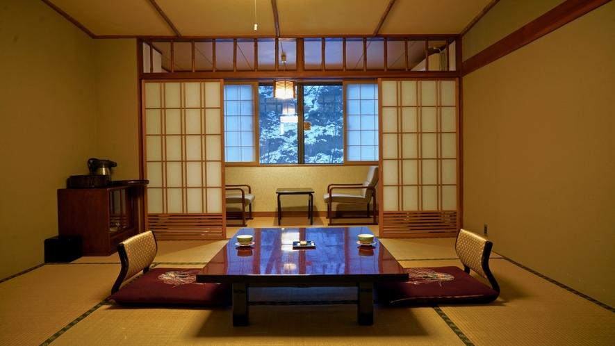 木造本館7畳間(冬)