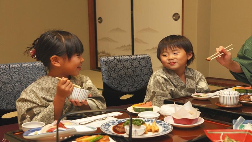 家族での部屋食