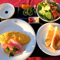 *【朝食一例】しっかり食べて1日元気に過ごしましょう!