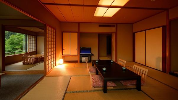 【禁煙】花かんむり/和室二間(2〜9名)