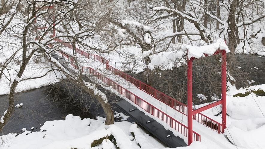 冬の愛隣館(庭園)イメージ