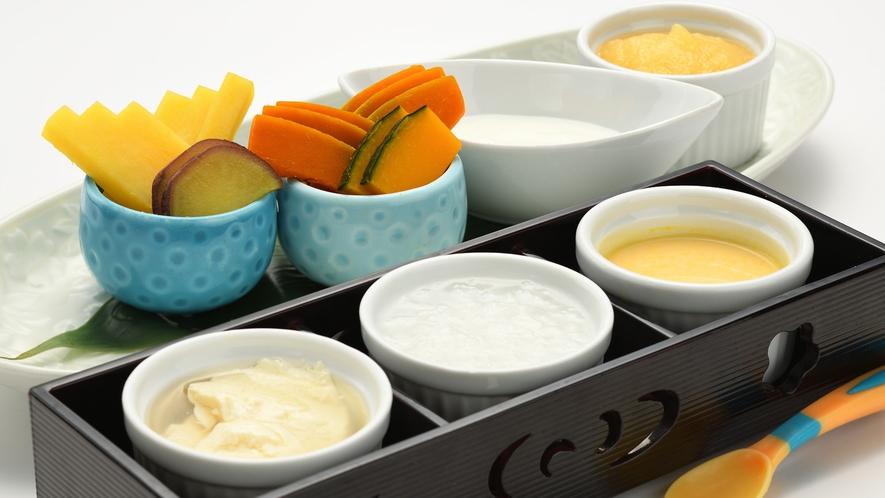 調理長特製の離乳食