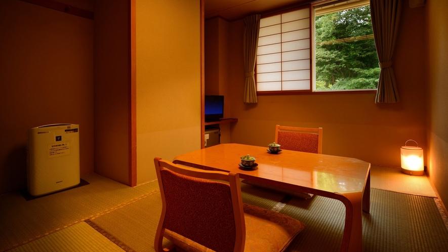 月かんむり4.5畳 ※景色は楽しめませんが、リーズナブルにご利用いただけるお部屋です