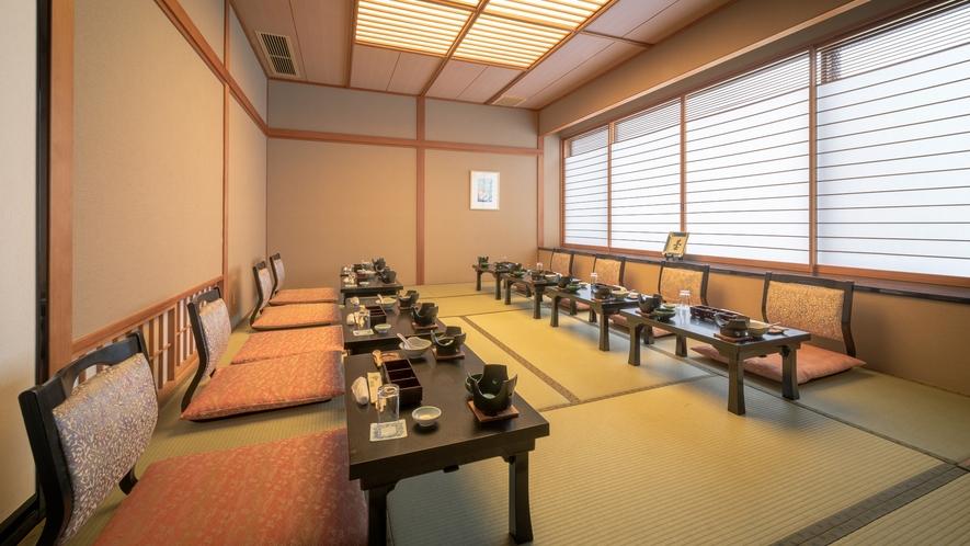 料亭「花の都」 ※全7室の、個人のお客様向けのお食事会場です
