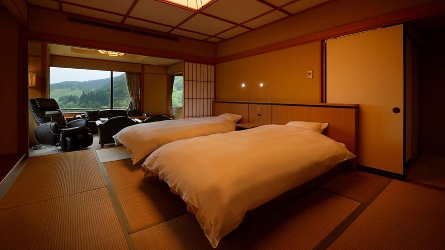 露天風呂付特別室 824号室(禁煙) ※ベッドは快適なシモンズベッドをご用意