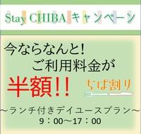 StayCHIBAキャンペーン<ちば割>昼食付デイユースプラン