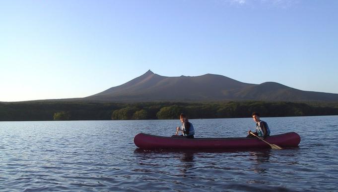 湖上からしか味わえない絶景と爽快感を楽しもう♪カヌー体験付きプラン