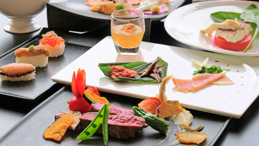 【レストラン】サンクサンス洋食コースイメージ01