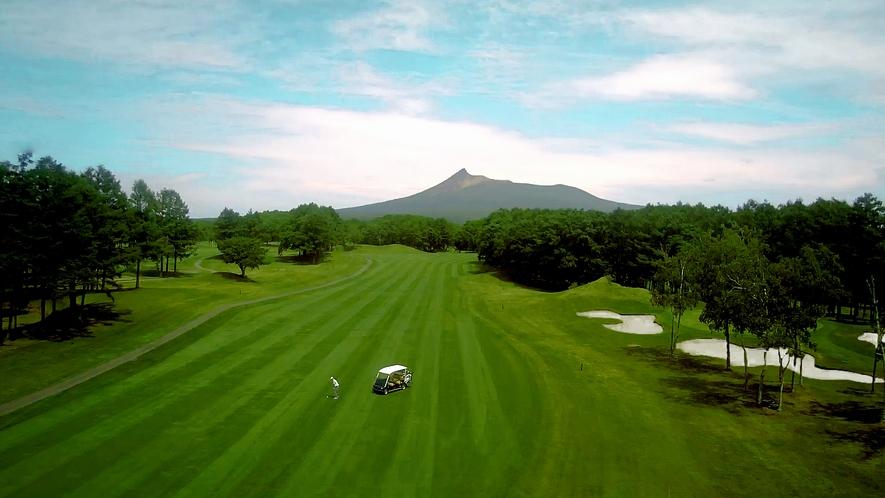 【ゴルフ】空撮_コース03