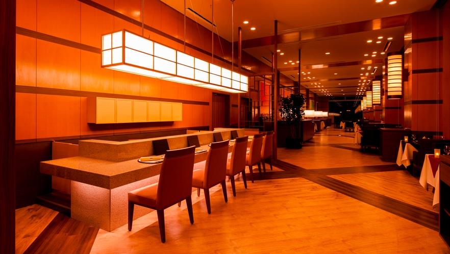 【レストラン】寿司カウンター