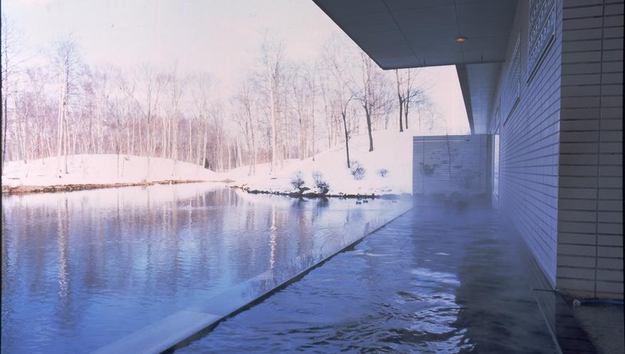 【温泉】露天風呂(冬)