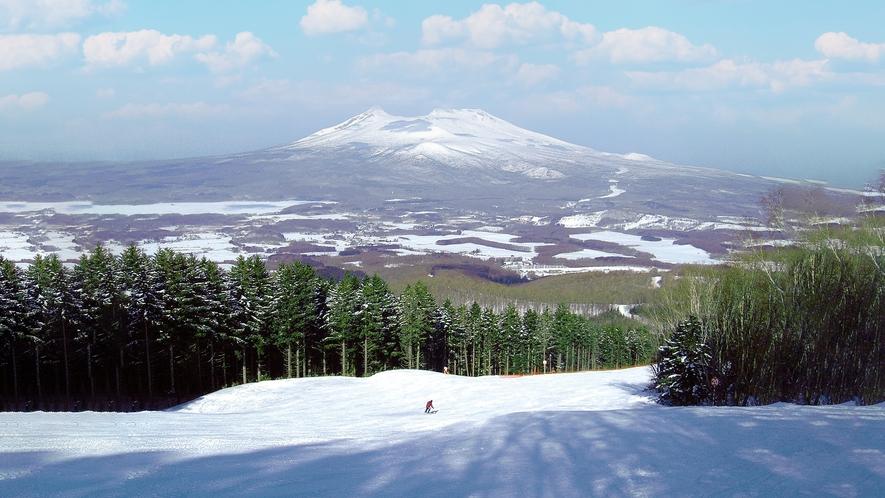 【アクティビティ冬】スキー(七飯スキー場)
