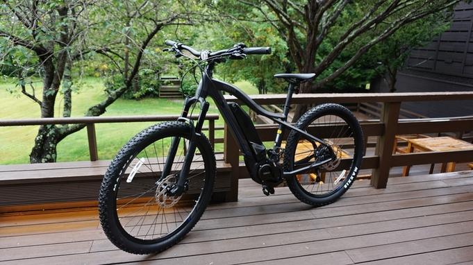 【支笏湖周辺をサイクリング】電動マウンテンバイク「E-バイク」レンタル2時間付き/ビュッフェ