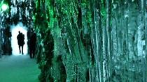 ◆氷濤まつり(写真は昨年の様子)/千歳市の観光スポット「苔の洞門」を再現した氷のオブジェ!