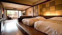 ◆【露天風呂付】和洋室/いつでも気兼ねなく温泉をお楽しみいただけます(客室一例)