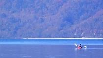 ◆支笏湖/湖上を渡る風が心地よい、支笏湖の大自然