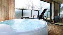 ◆【展望バス付】デラックス和洋室/お風呂は癒しをもたらすシルキーバス(客室一例)