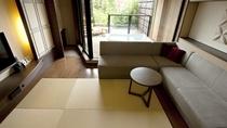 ◆【展望バス付】和洋室/開放感のある大きな窓は、四季の移ろいを感じられます(客室一例)